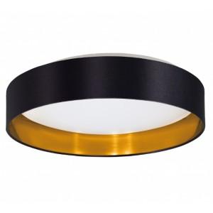 LED ПЛАФОН ф.380 MASERLO черно-златно