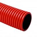 Гофрирана тръба HDPE Ф40 N450 червена