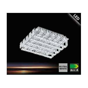 ПЛАФОН LONZASO с кристали 8 LED