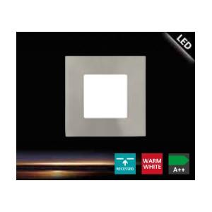 ЛУНА 2.7W 85/85 3000K FUEVA 1 никел мат