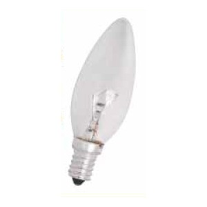 КРУШКА 60W E14 свещ прозрачна HL423